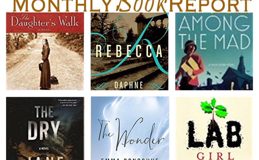 Monthly Reads June through August 2017