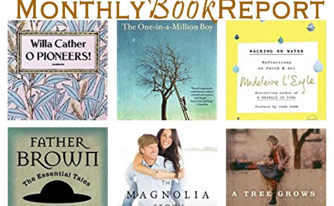 Monthly Book Reports March – May 2017