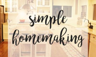 Reviving the Homemaking Series
