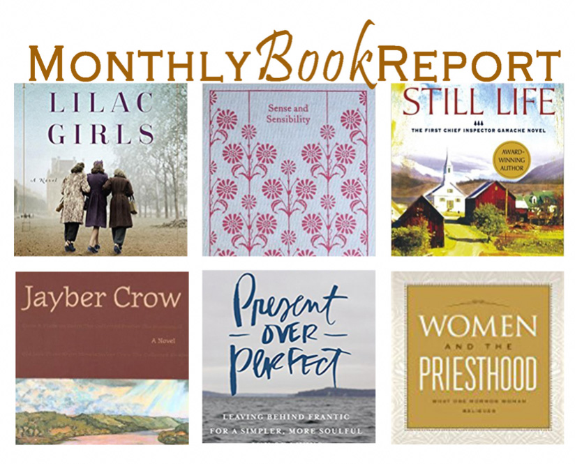 Monthly Book Report January & February 2017