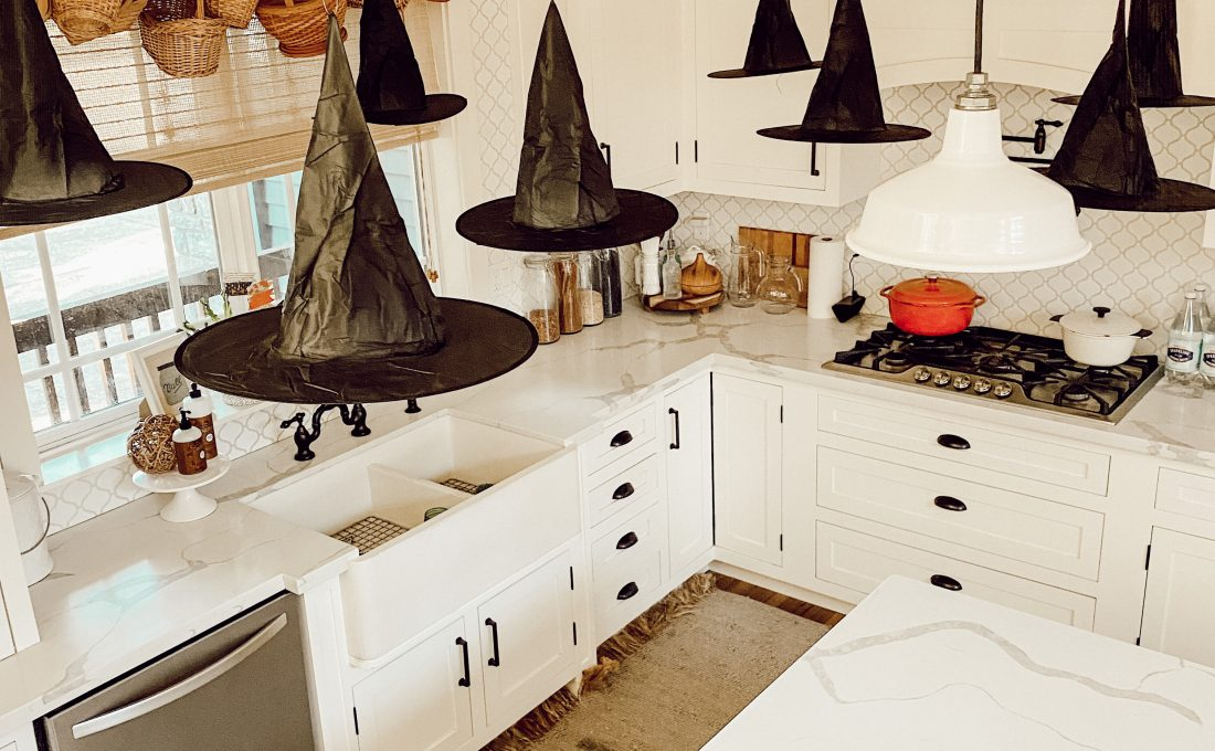 Floating Witches Hats